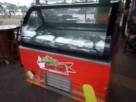 Venta de vitrina para helados