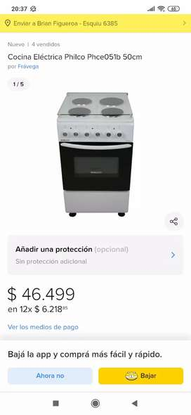 Cocina Electrica Philco