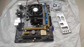 Combo gamer procesador + placa + ram 8gb