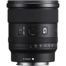 Lente Sony FE 20mm f1.8 G