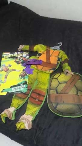 Disfraz Tortuga Ninja Talla 4