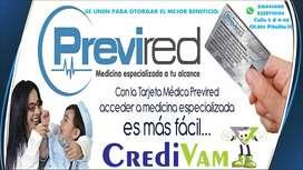 Tarjeta Medica Previred.