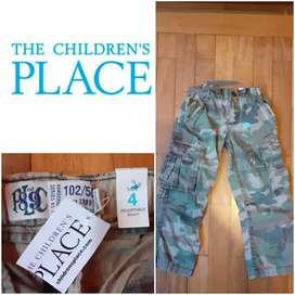 "PANTALON T4 ""CHILDREN'S PLACE"" NUEVO"