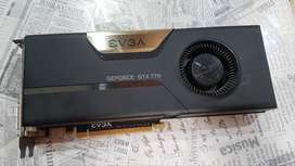 Tarjeta grafica EVGA GTX 770 2Gb