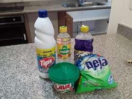 Servicio de limpieza a casas desde 20 dolares