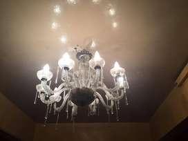 LAMPARAS DE CRISTAL