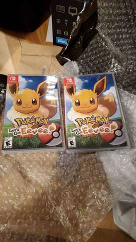 Ganga Video Juego Pokemon Let´s Go Eevee!! Nintendo Switch