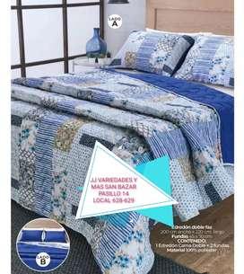 Edredón para cama doble