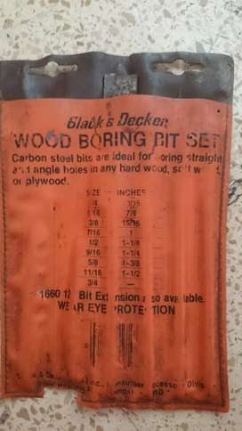Wood Boring Bit Set