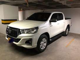 Toyota hilux 2019 4x4 automatica diesel