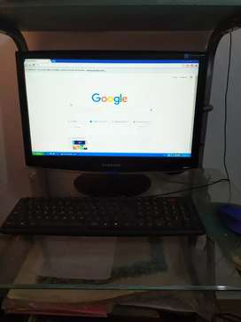 Compu completa de escritorio + impresora