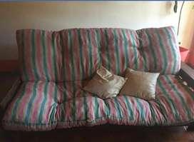 sillón futón impecable $6000