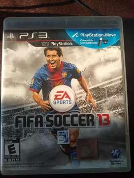 OPORTUNIDAD día del Niño Juego Fifa Soccer 13 Play Station 3
