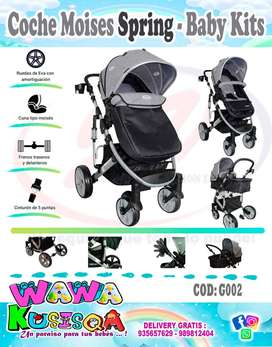 COCHE MOISES SPRING - BABY KITS