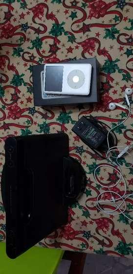 Iphod classic + parlante Sony original