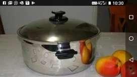 Precio super promocion de locura Olla Nueva de Renaware de 12 Ltrs (King cooker) y sarten pequeña nueva de 1.5 Ltrs