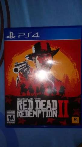 Vendo video juego Red Dead Redemption 2