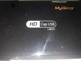Capturadora USB HDMI 720p/1080i MyGica u800