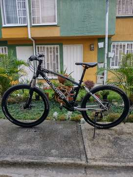 Vendo bicicleta todo terreno casi nueva