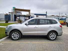 Vendo camioneta SantaFe Año 2010. En perfecto estado motor standar.