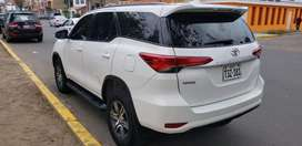 Toyotpaa Fortuner Full Petrolera Año 216