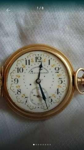 Reloj de bolsillo waltham