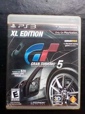 Gran turismo XL edition PLAY 3