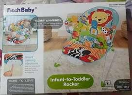 Hermosa silla para bebe Fitchbaby