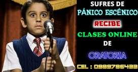 CLASES VIRTUALES DE ORATORIA