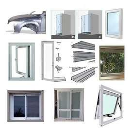 Curso PROYECTO  Trabajos Aluminio Carpinteria Ventanas Puertas Rejas