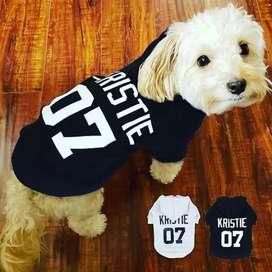 Ropa personalizada para perros