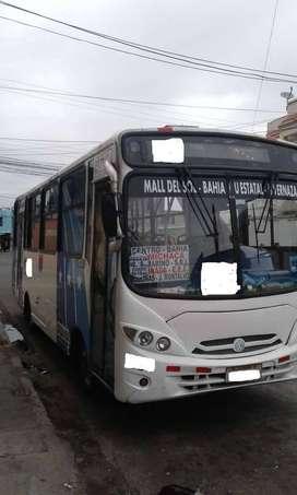 VENDO BUS DE LINEA DE TRANSPORTE URBANO CON PUESTO Y RUAT, PRECIO NEGOCIABLE