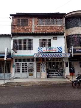 Se vende casa en el barrio La castilla, vía al palo del ahorcado, excelente ubicación, predio de cuadra a cuadra