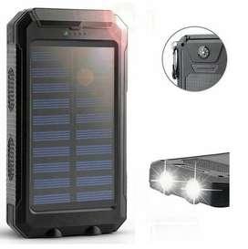 Cargador Bateria Pila Portatil Powerbank 20000 Mah Solar