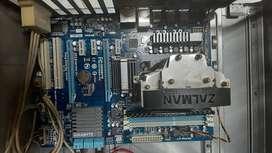Procesador Fx6100 + Board Gigabyte GA-970A-D3 + DDR3 8Gb Corsair 1600Mhz