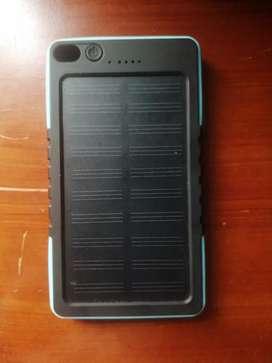 Batería solar externa imepermeable