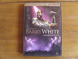 Barry White Dvd Larger Than Life Impecable!