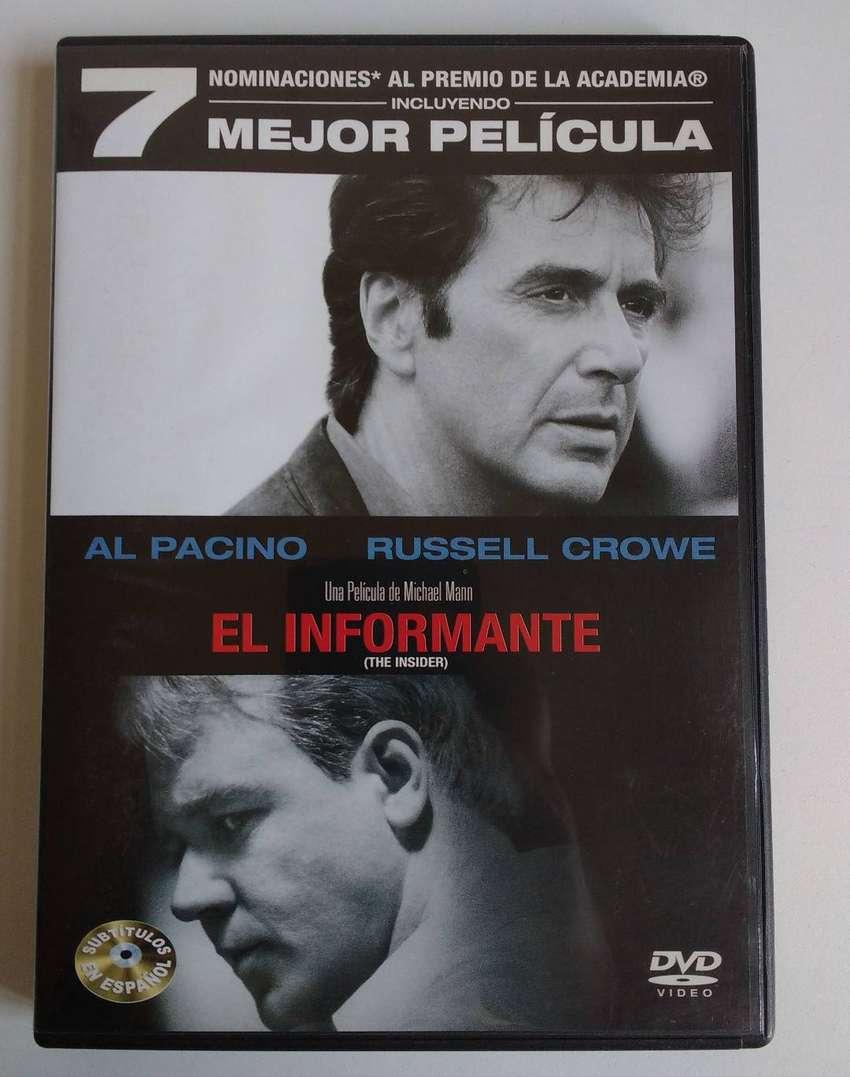 ORIGINAL - DVD El informante - CDJESS Al Pacino Russell Crowe The Insider