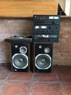 Equipo De Audio Sansui Completo En Muy Buen Estado segunda mano  La Plata, Buenos Aires
