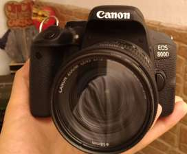 Camara Canon 800D (T7i)