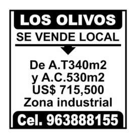 Venta de local industrial - Los Olivos