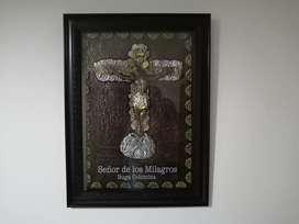 Cuadro señor de los milagros