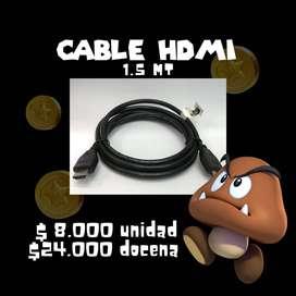 CABLE HDMI 1 METRO AL POR MAYOR