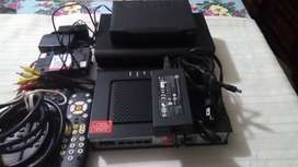 Remato 2 routers y 2 decodificadores usado