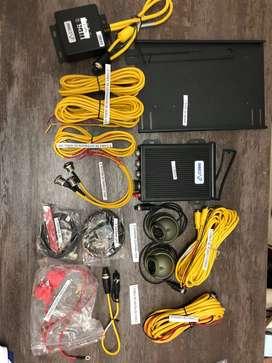 Venta Kit (MDVR)de seguridad, UPS, Cámaras, tarjeta SD, botón de pánico, antenas GPS/ 3G, pantalla LED, servicio técnico