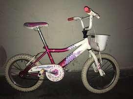 Bicicleta rosa Lil Honey