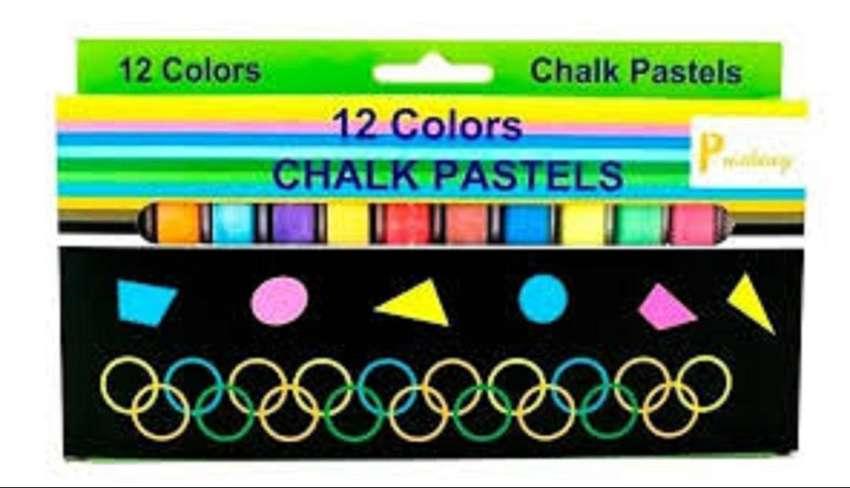 Tiza Pastel Chalk X 12 Pushing Corriente