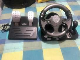 Direccion y pedales para play