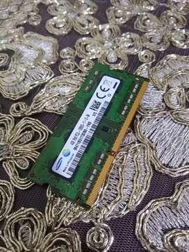 Se vende memoria RAM para portatil