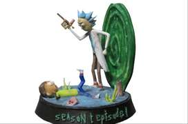 Figuras, Rick And Morty Diorama Temporada 1